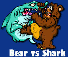 Bear vs Shark