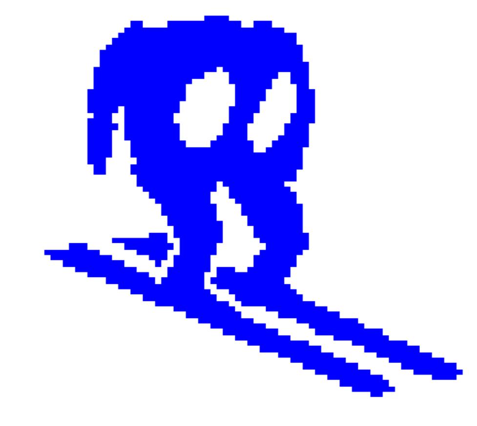 Horace goes skiiing