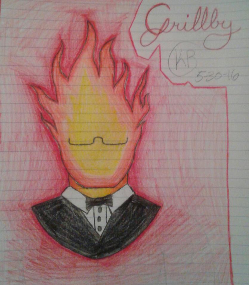 Grillby by brightpaw8