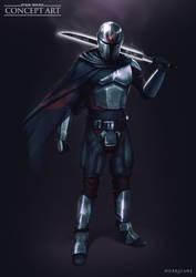 Star Wars - Tarre Vizsla (Fan-Art)