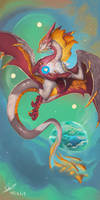 RoseGold Dragon