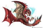 Sky lord: Rathalos