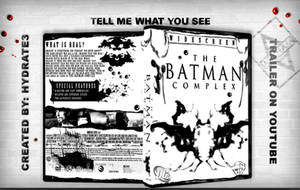 The Batman Complex DVD case by hydrate3