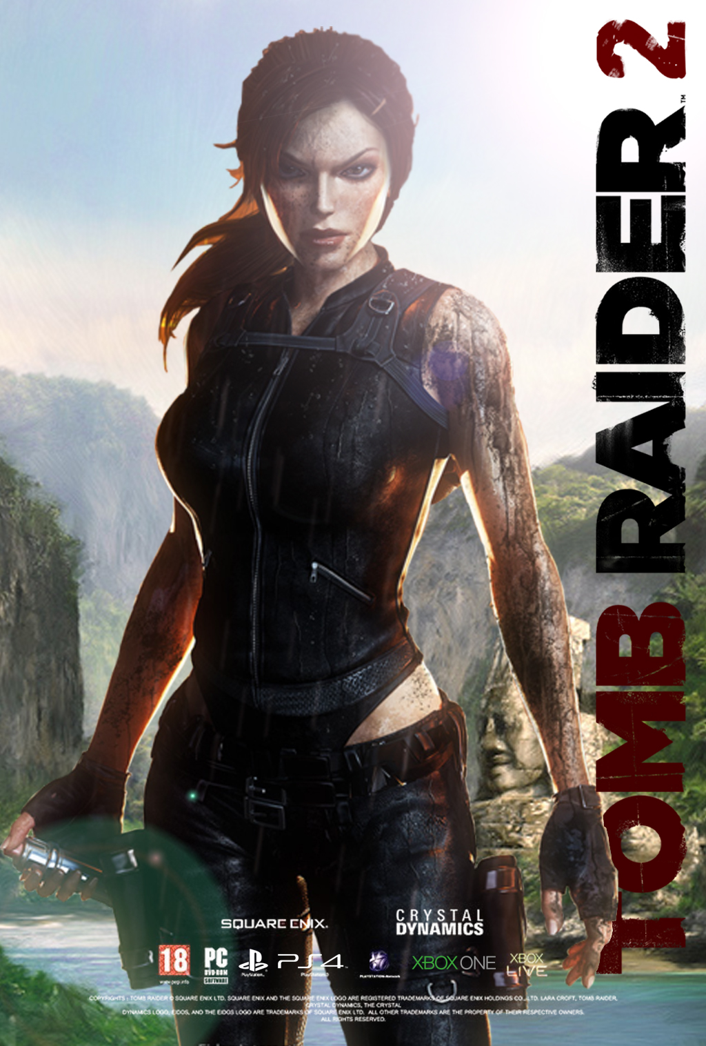 Tomb Raider 2 Poster 1 By Hydrate3 On Deviantart