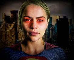 Emilia Clarke as DCEU Supergirl by hydrate3