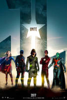 JUSTICE LEAGUE Poster - CW EDITION by hydrate3