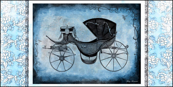 Blue Carriage by DivaMM