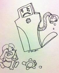 Bad Jailbot by papuruikazuchi