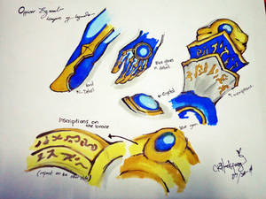 Officer Ezreal - league of legends weapon design