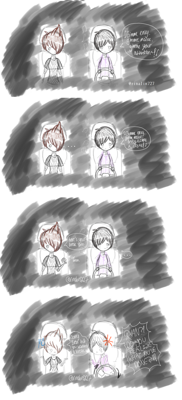 ryden comic - gIMME A BReAK by RinaLin727
