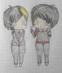 frerard art but it's hand drawn by RinaLin727