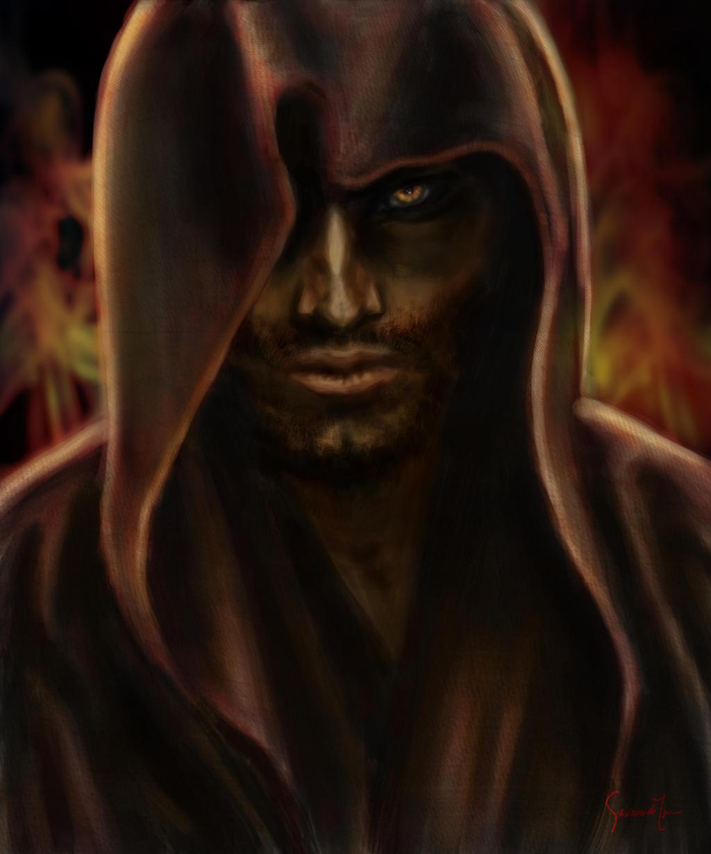 Olshar character concept art