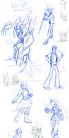 WC sketches pt2