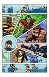 Marvel Superheroes Bar Mitzvah