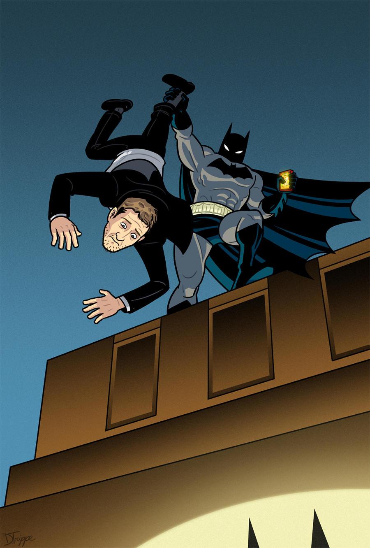 The Dark Knight Strikes Frank Miller Back by dryponder
