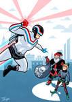 Captain Laserbeam vs. Anti-Claus