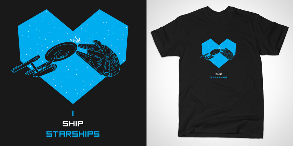 I SHIP STARSHIPS by dryponder