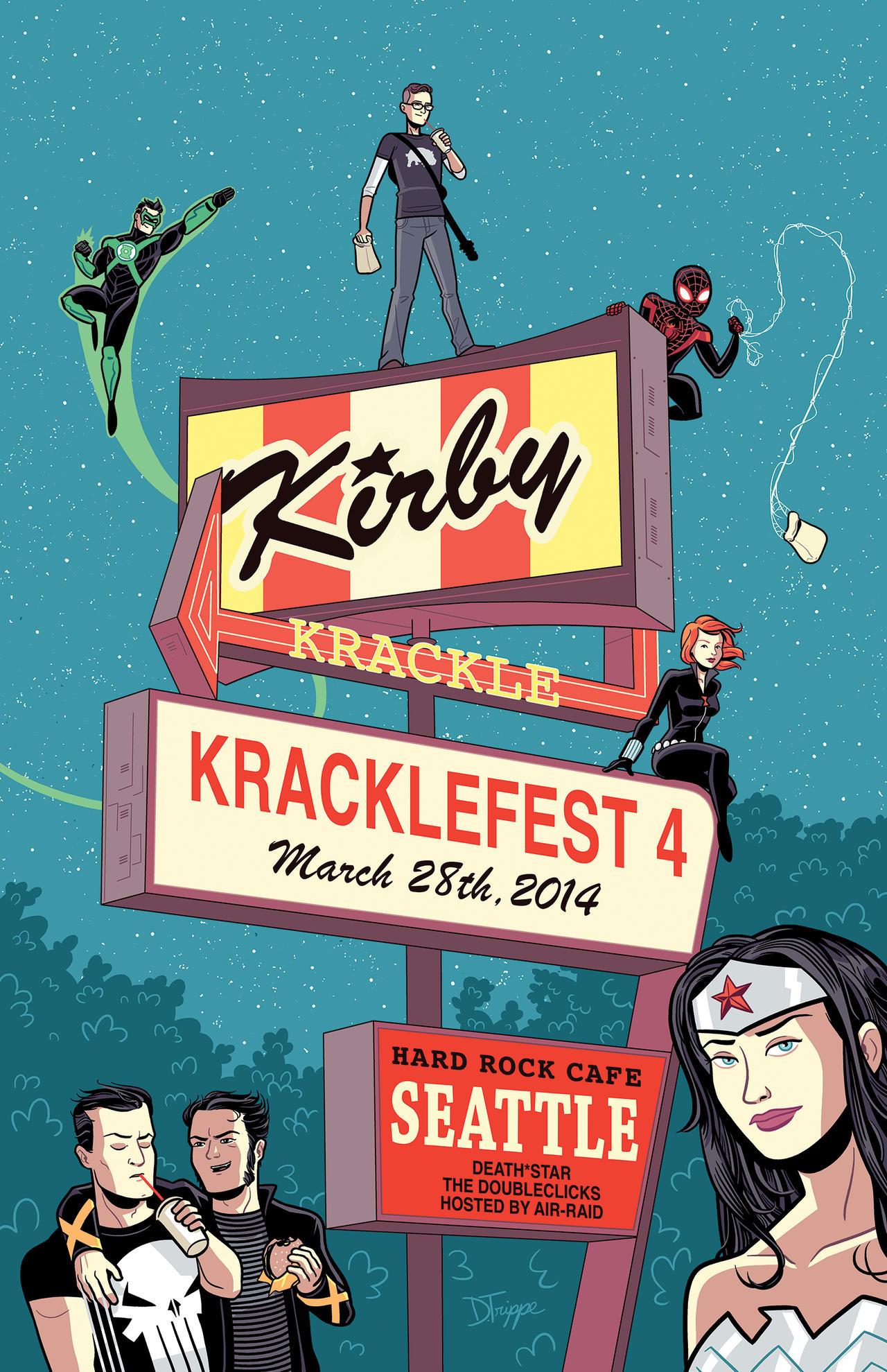 Kracklefest 2014 Poster by dryponder