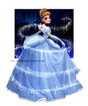 The magic blue dress