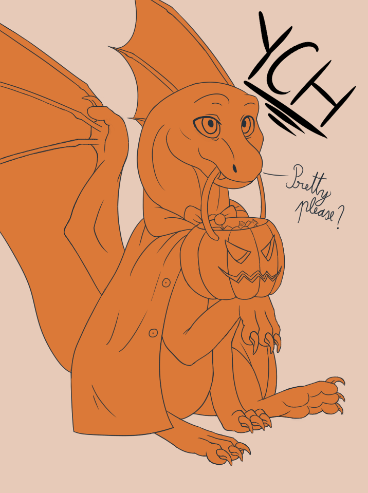 Halloween YCH - Vampire 2 SLOTS (10$ each)(CLOSED) by Aid-the-dragon