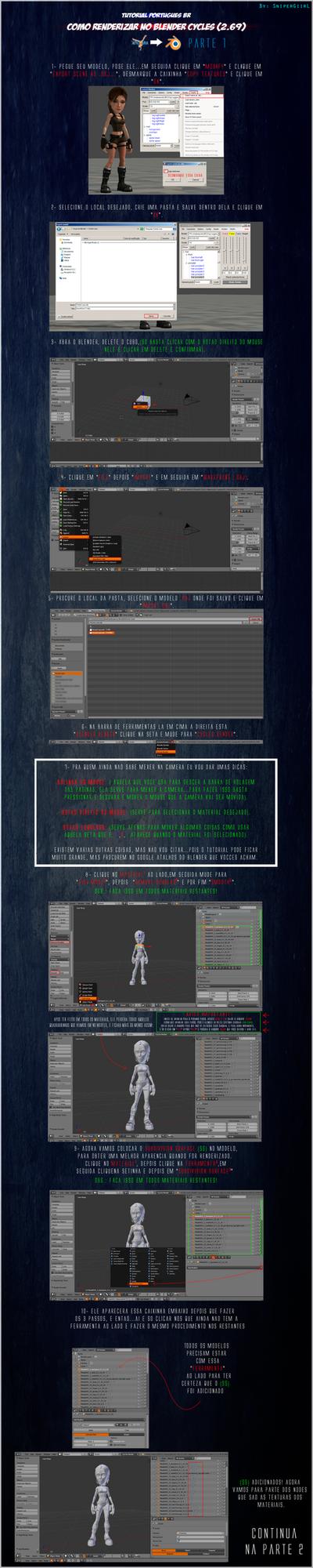 Tutorial Xnalara - Blender Cycles [PT-BR] Parte 1 by SniperGiirl