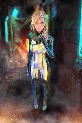 .:Mass Lightning Render Blender 2:. by SniperGiirl