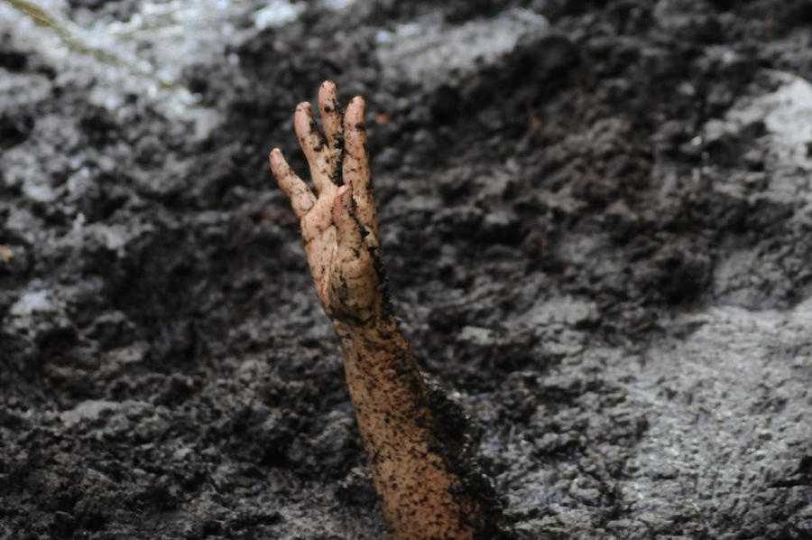 Quicksand photo DeviantArt Reaching____by_kenham1-d2xv0ho