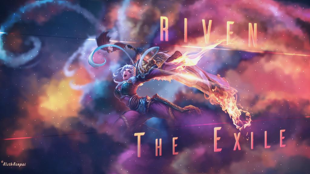 Dragonblade Riven Wallpaper By SlothSenpai