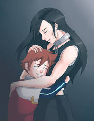 Requested | Tifa Lockheart and Chris Thorndyke