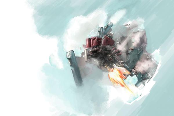 cloud mashine by kofab