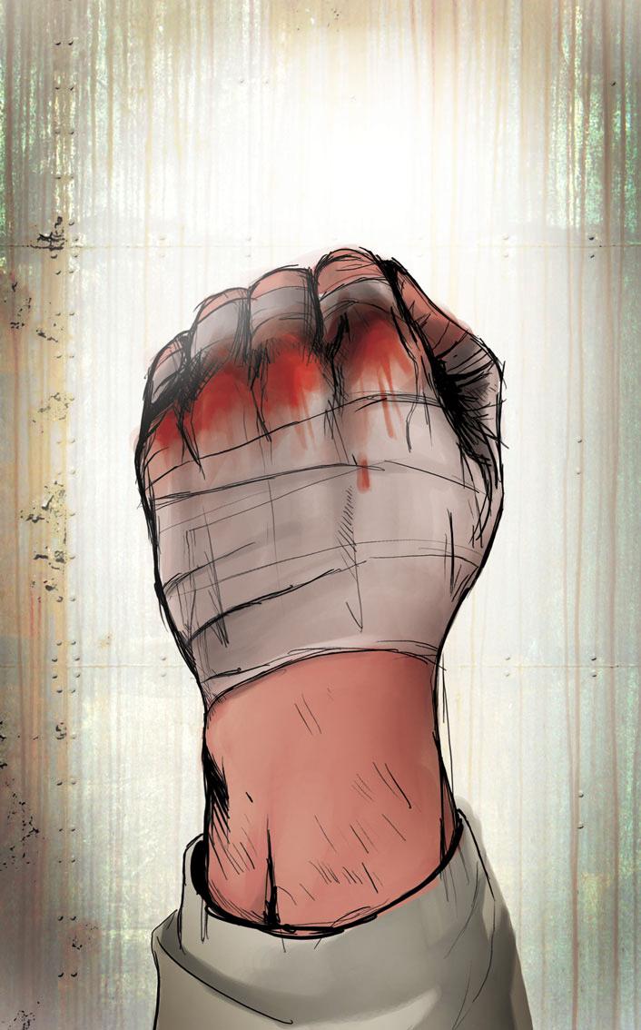 fist of fury by kofab