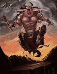 Minotaur Barbarian