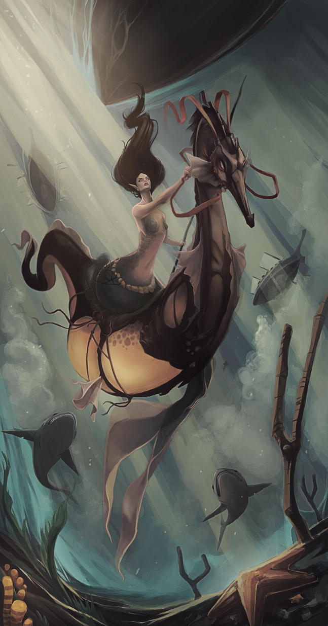 Mermaid by kofab