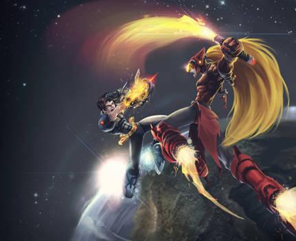 Megaman vs. Zero