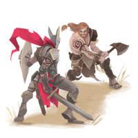 Fight by kofab