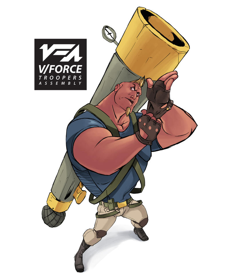 V|Force Troopers Assembly Trap Character design by kofab