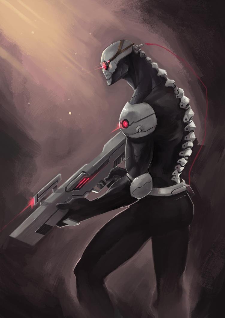 Skull Soldier by kofab