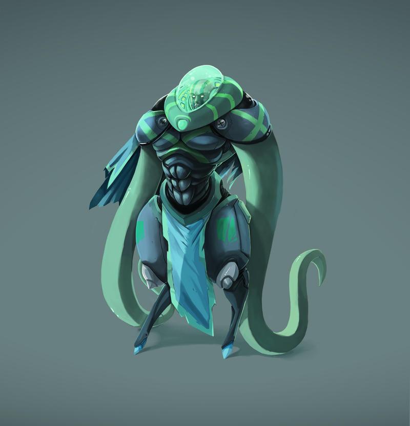 Octo Slayer by kofab
