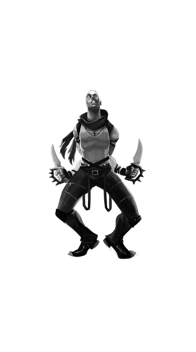 Mortal-Kombat Kano by kofab