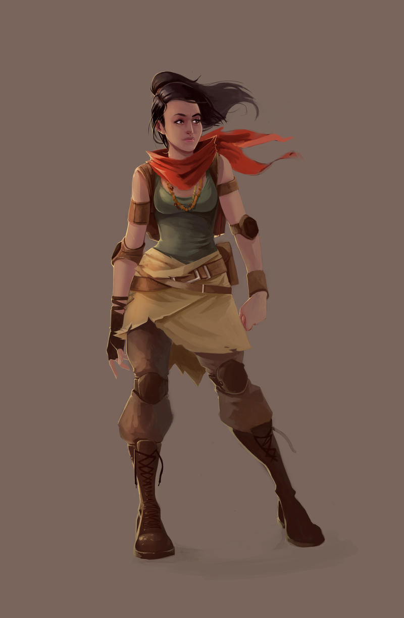 Character Design Artist Hire : Female character design by kofab on deviantart