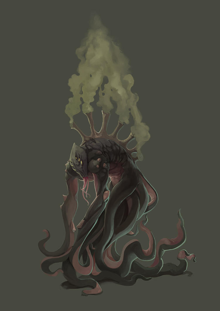 Tentacle Creature by kofab
