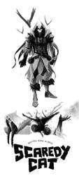 Batman: Born or Bred - Scarecrow by kofab