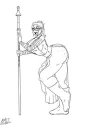 Rajwolf Maggie Jedi by CKT-INC