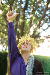 Fairy Tail - Laxus by alienrobot