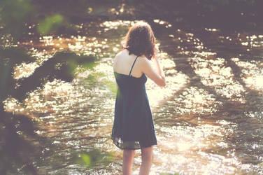 Natalie in the water by Alteru