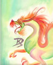 Green Dragon by HanMonster
