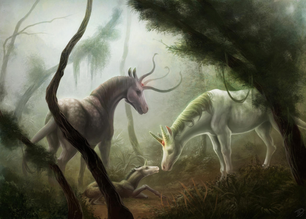 A Day in the Woods by HanMonster