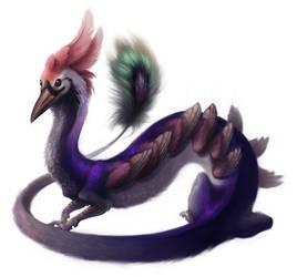 Slitherbird, Slitherbird by HanMonster