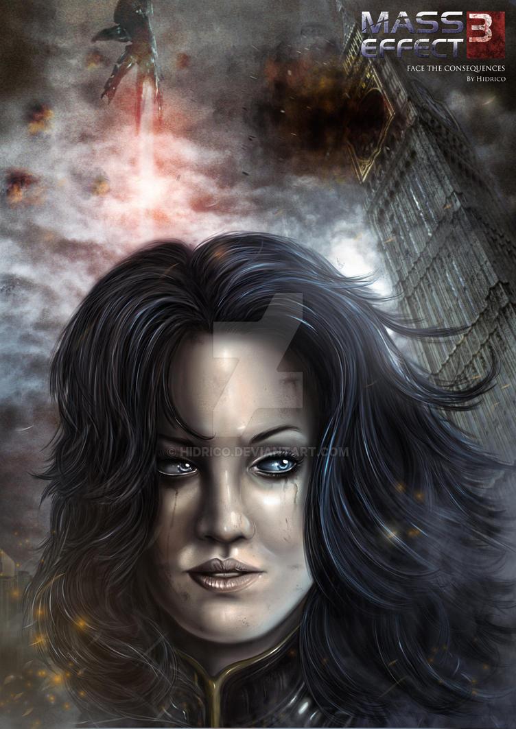 Mass Effect 3-Miranda Lawson by Hidrico