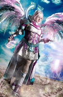 Winged Elyos- Aion by Hidrico